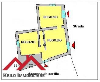 Negozio / Locale in vendita a Cassano d'Adda, 3 locali, prezzo € 120.000 | PortaleAgenzieImmobiliari.it